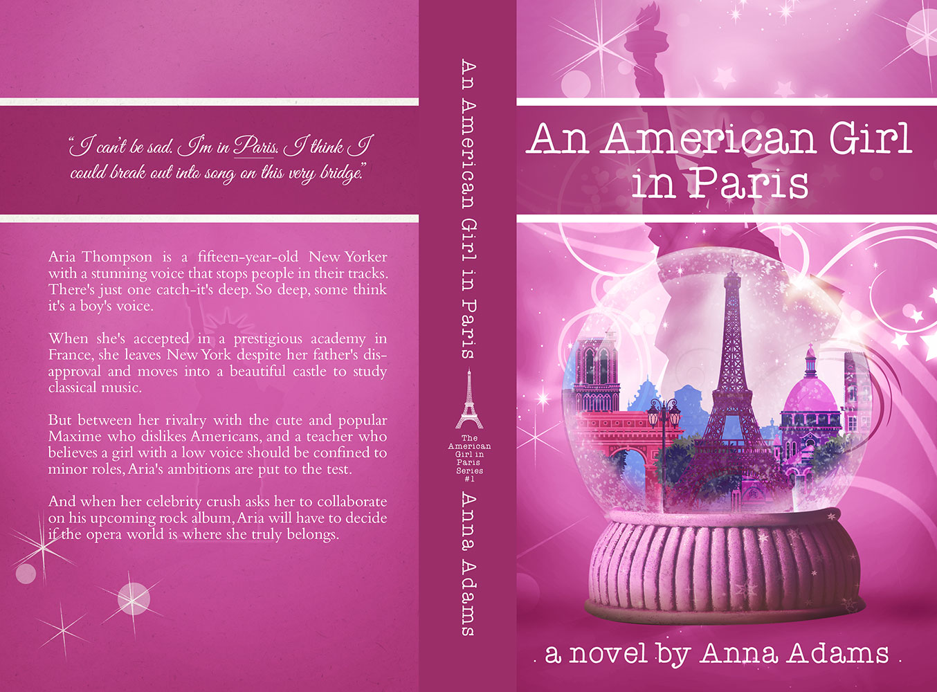 An American Girl in Paris by Anna Adams