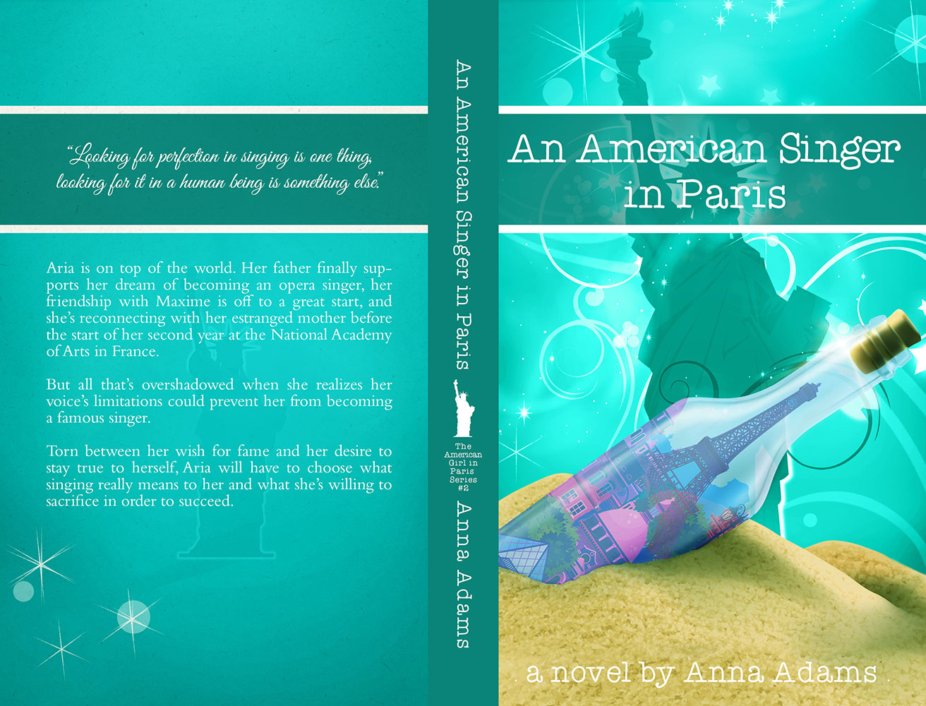 An American Singer in Paris by Anna Adams
