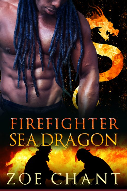 Firefighter Sea Dragon by Zoe Chant.