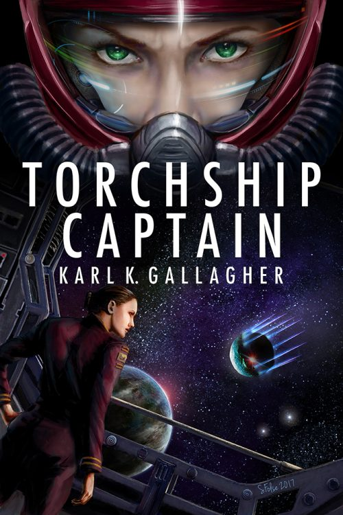 Torchship Captain by Karl K. Gallagher.