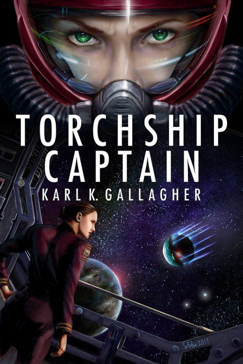 Torchship Captain by Karl K. Gallagher.