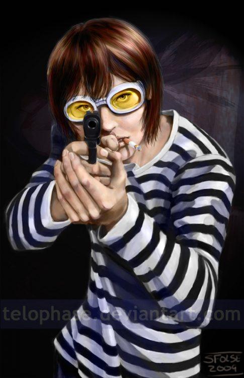 Fanart of Matt from Death Note.