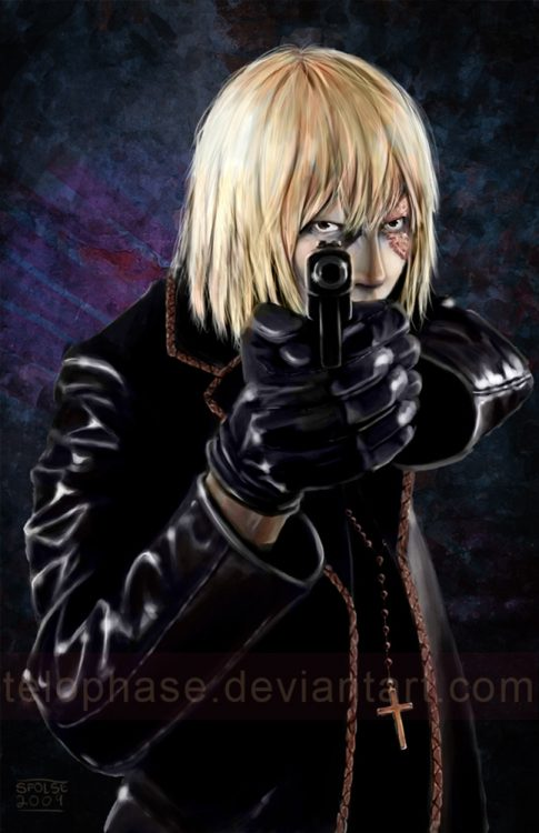 Fanart of Mello from Death Note
