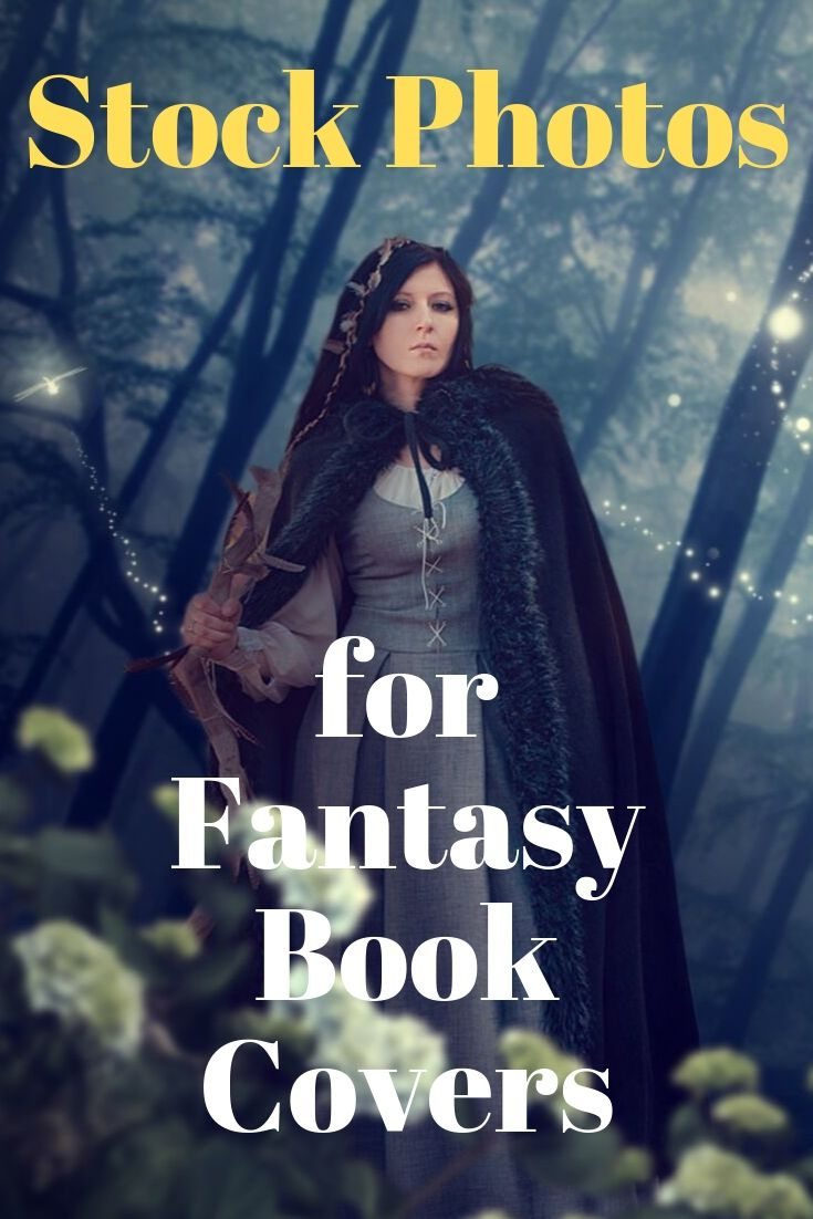 Stock photos for fantasy book and ebook covers