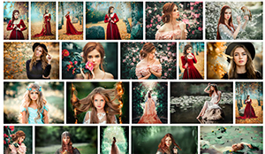 Shutterstock gallery with photos suitable for fantasy romance  covers