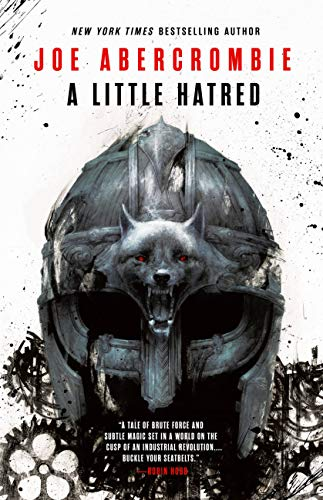The cover of A Little Hatred