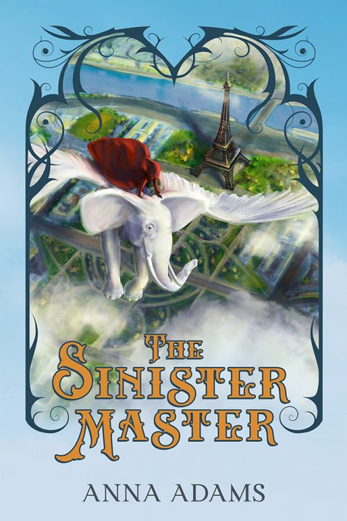 Ebook cover of The Sinister Master by Anna Adams