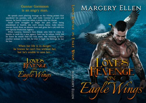 Paperback cover for Margery Ellen's Love's Revenge on Eagle Wings