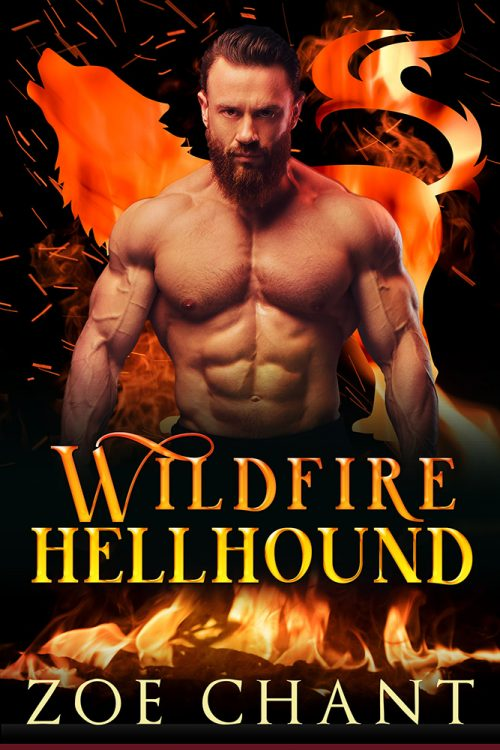 Wildfire Hellhound by Zoe Chant